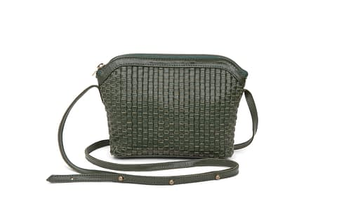 Kmana | Lady Hester Cross Body Bag - Green