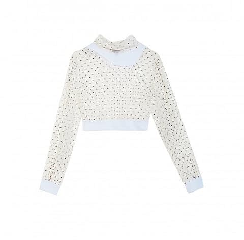 Elmira Medins | Crystal Crop Top