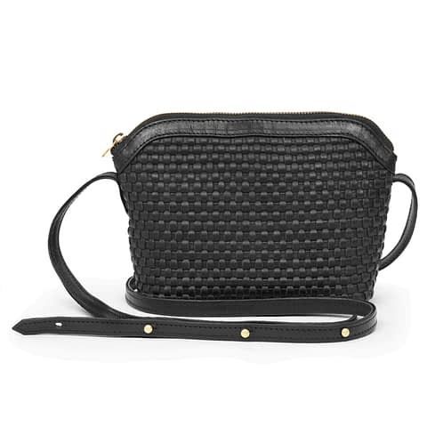 Kmana | Lady Hester Cross Body Bag - Black