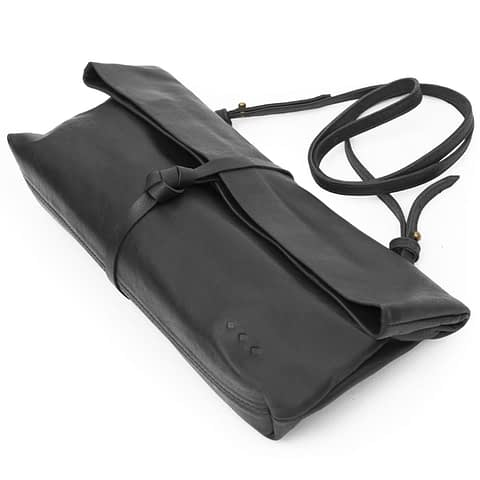 Kmana | Chatwin Cross Body And Clutch - Black