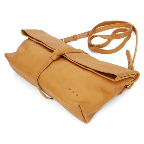 Kmana | Chatwin Cross Body And Clutch - Brown