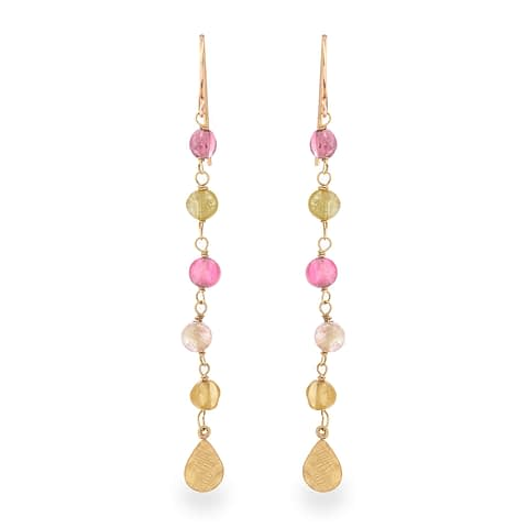 Candy Tourmaline Earrings