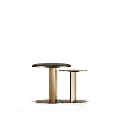 Alloy Side Table By Gold Castle