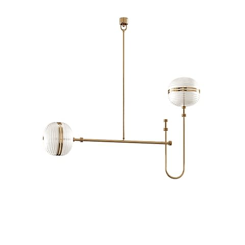 Ayler I Ceiling Lamp By The Mezzo Collection
