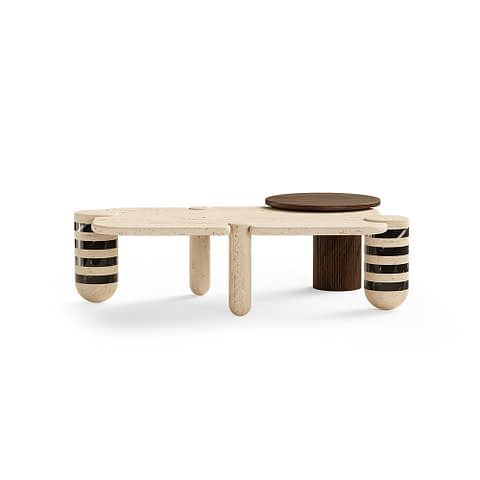 Edith Center Table By The Mezzo Collection