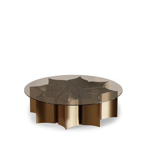 Lotus Center Table By Gold Castle