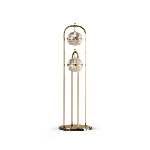 Sanders Floor Lamp By The Mezzo Collection