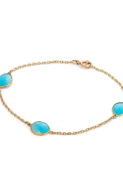 Turquoise Bracelet by Ambersouk