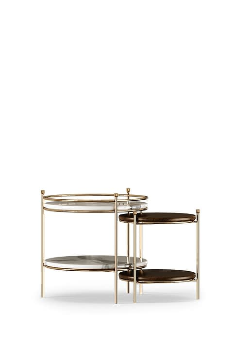 Erni Side Table by the Mezzo Collection