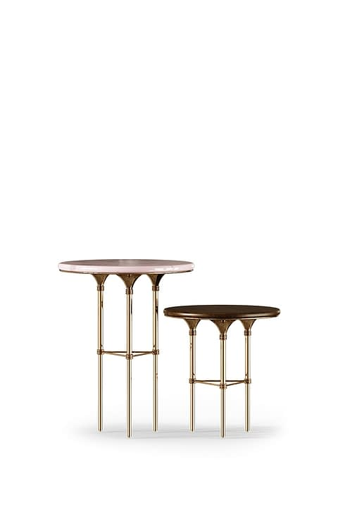 Eva Side Table by the Mezzo Collection