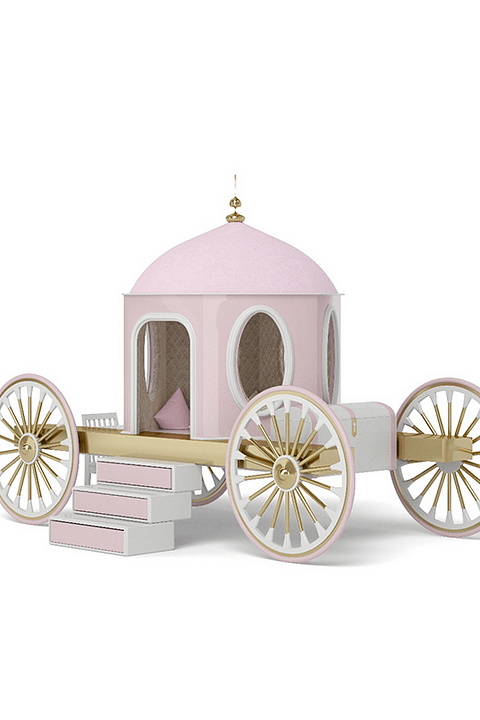 Pumpkin Carriage By The Fairytale