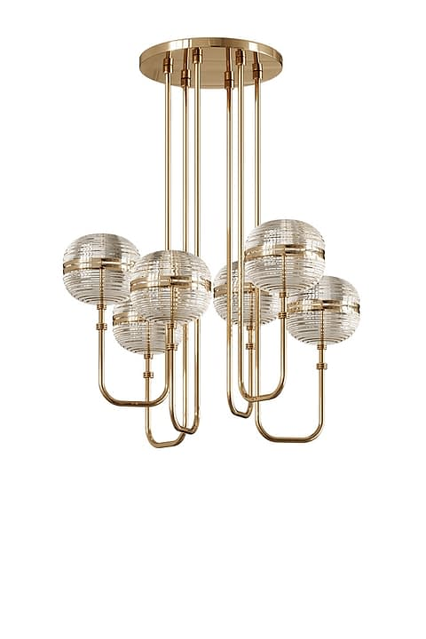 Gary Ceiling Lamp By The Mezzo Collection