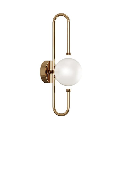 Parker II Wall Lamp By The Mezzo Collection