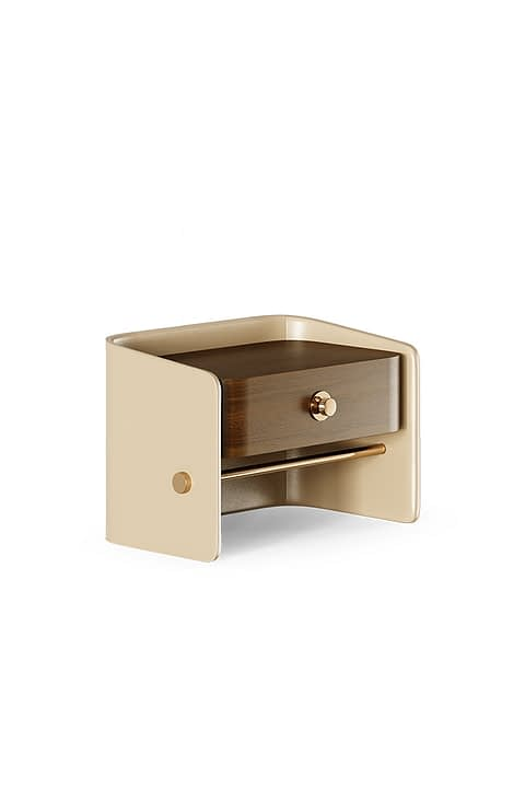 Platters Nightstand By The Mezzo Collection