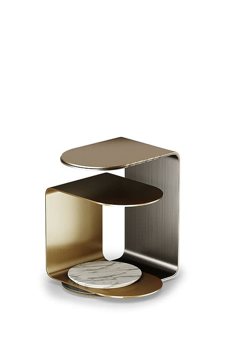Power Side Table By Gold Castle