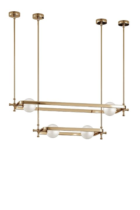 Roger Ceiling Lamp By The Mezzo Collection