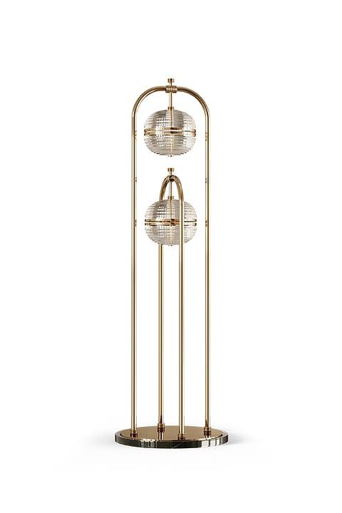 Sanders Floor Lamp By The Mezzo Collection