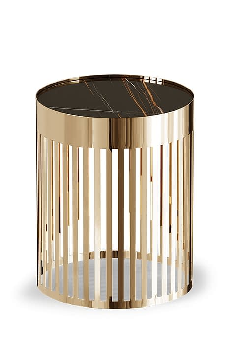 Stark Side Table By Gold Castle