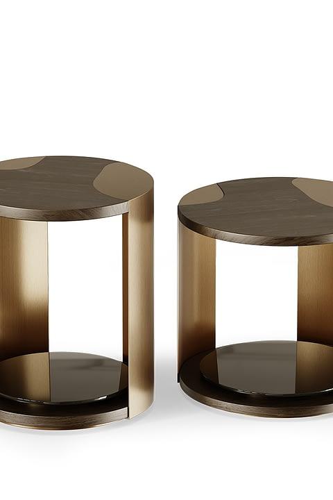 Terni Side Table By Gold Castle