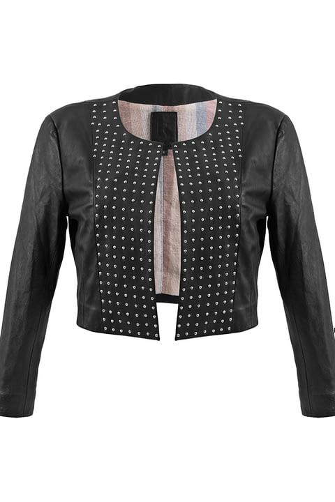 Cordobesa Jacket - Studded in Black By Kmana