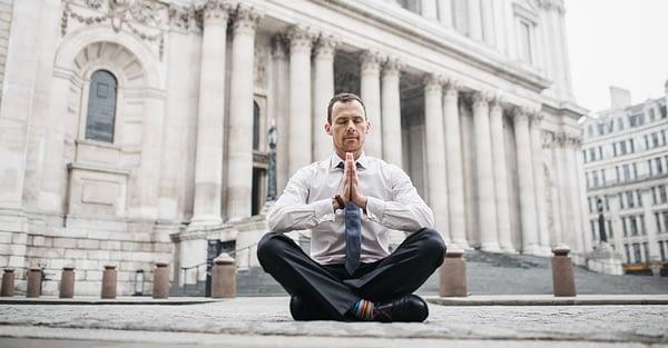 The Yogi Banker - Introduction to Mindfulness Meditation