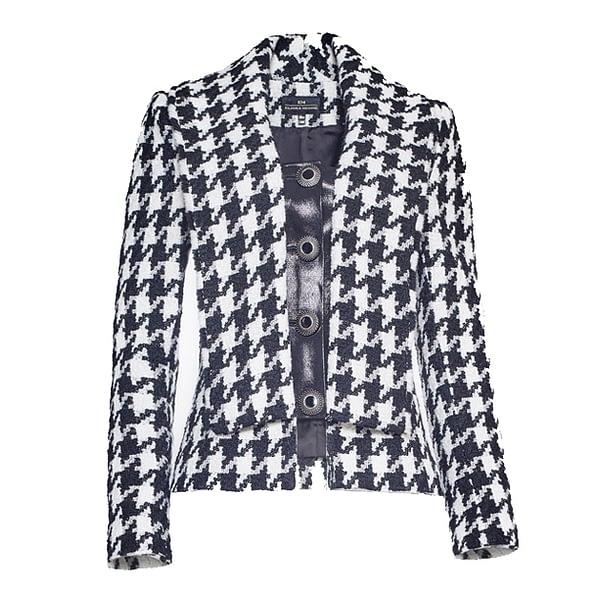Houndstooth Tweed Jacket by Elmira Medins