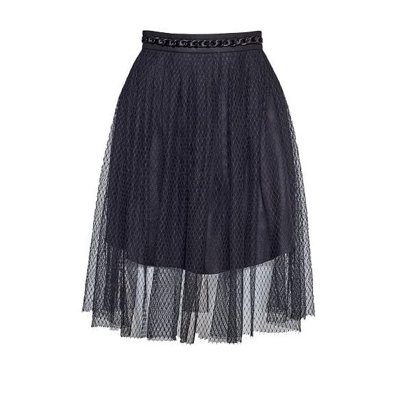Black Tulle Skirt By Elmira Medins