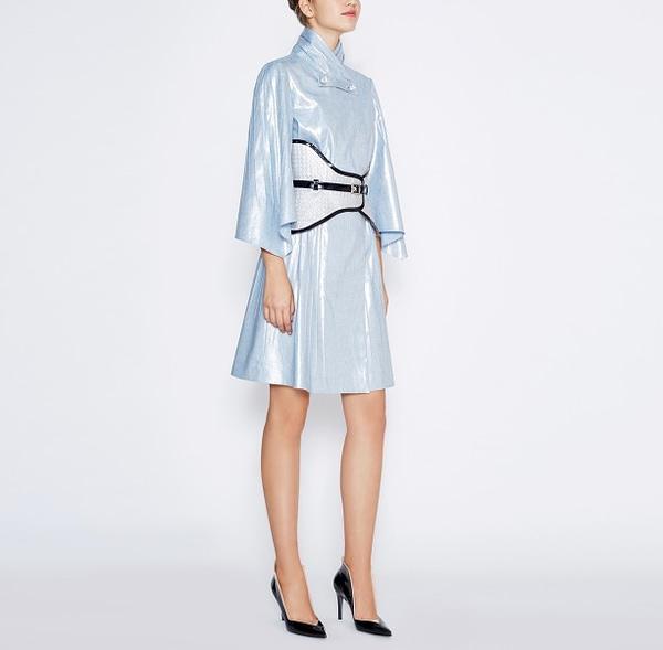 Avantgarde Nacre Dress by Elmira Medins