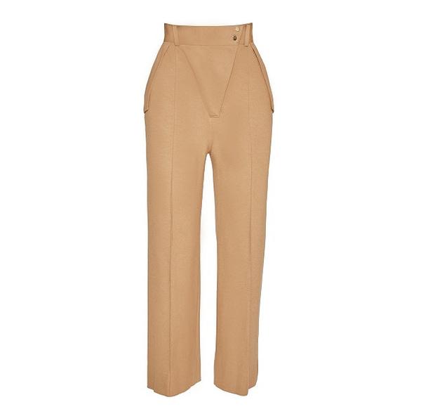 Elmira Medins | Beige Envelope Pants
