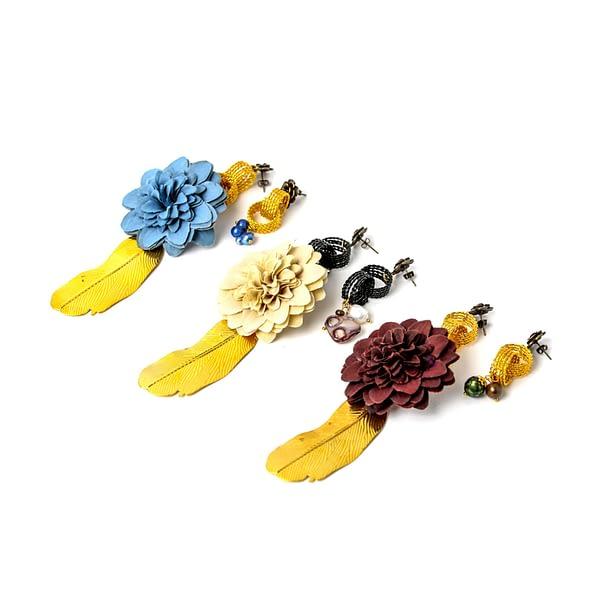 The Rive Gauche Earrings By Roslinde