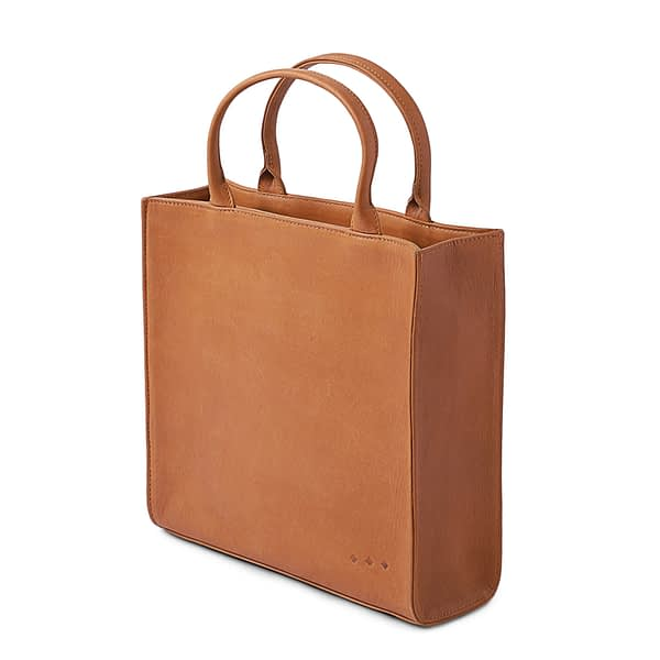 Chatwin Mini Tote Bag in Brown By Kmana